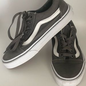VANS GREY UNISEX SHOES